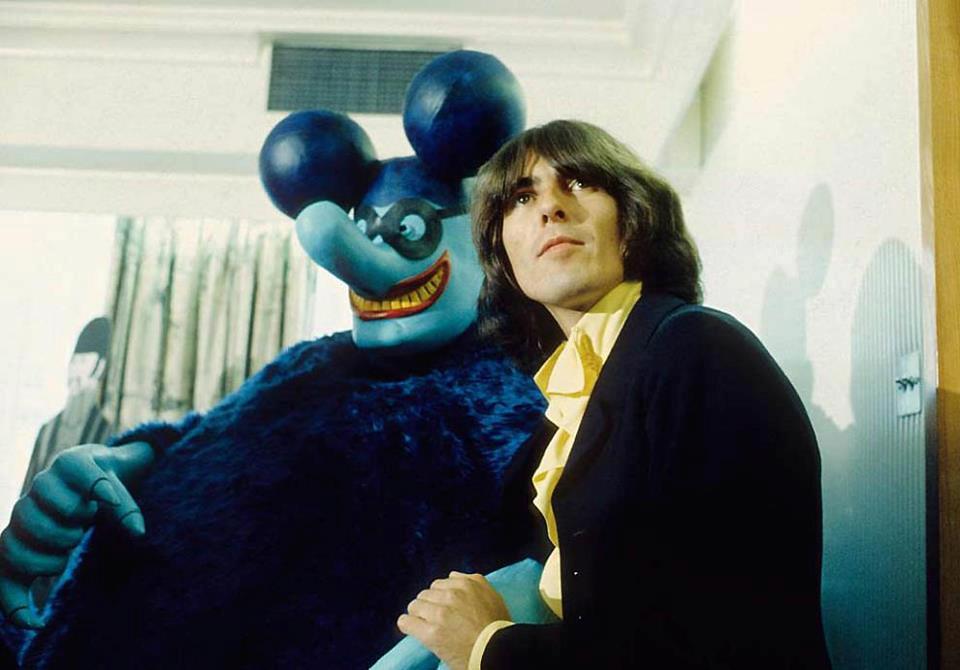 George Harrison In Yellow Submarine 1968