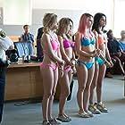 Vanessa Hudgens, Selena Gomez, Ashley Benson, and Rachel Korine in Spring Breakers (2012)
