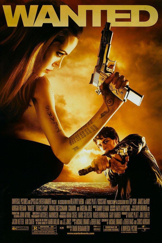 Wanted (2008) BluRay 480p, 720p & 1080p