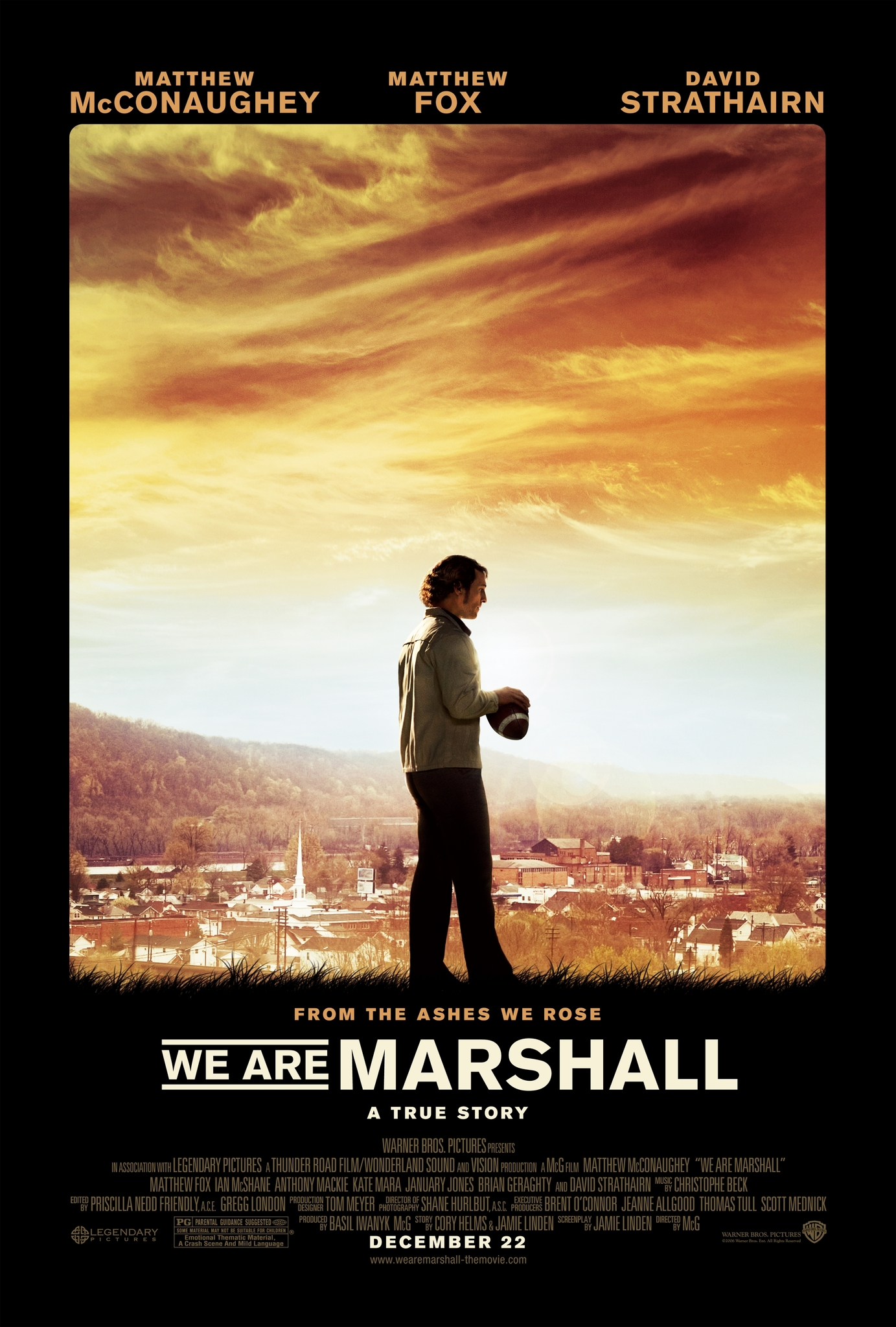 Image result for we are marshall poster