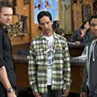 Joel McHale, Danny Pudi, and Donald Glover in Community (2009)