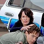 Thomas Dekker and Lena Headey in Terminator: The Sarah Connor Chronicles (2008)