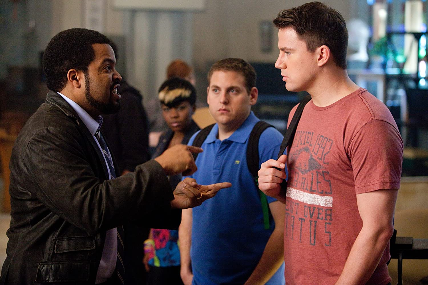 Ice Cube, Channing Tatum, and Jonah Hill in 21 Jump Street (2012)