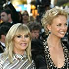 Charlize Theron and Britt Ekland at an event for The Life and Death of Peter Sellers (2004)