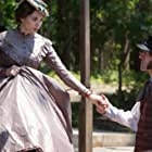Elizabeth Olsen and Oscar Isaac in In Secret (2013)