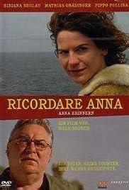 Ricordare Anna Poster