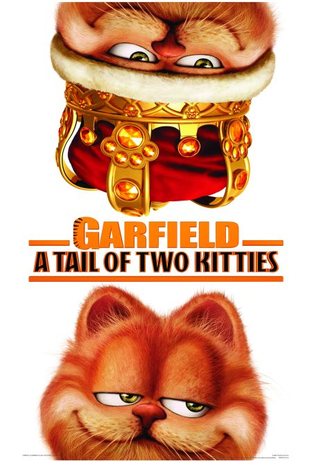 Poster film Garfield: A Tail of Two Kitties (2006).