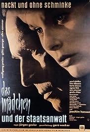 Das Mädchen und der Staatsanwalt Poster
