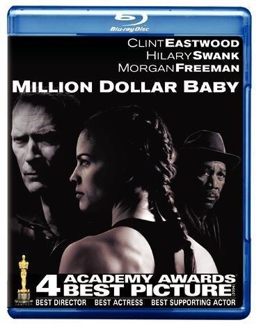 Clint Eastwood, Morgan Freeman, and Hilary Swank in Million Dollar Baby (2004)