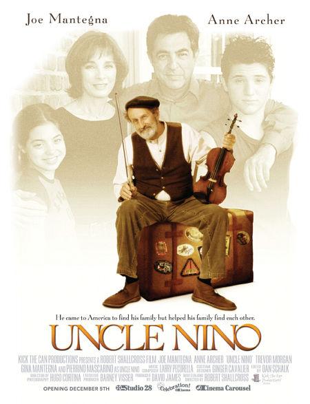 Anne Archer, Joe Mantegna, Pierrino Mascarino, Trevor Morgan, and Gia Mantegna in Uncle Nino (2003)