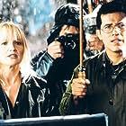Ellen Barkin and John Leguizamo in The Fan (1996)