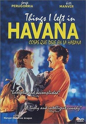 Where to stream Things I Left in Havana