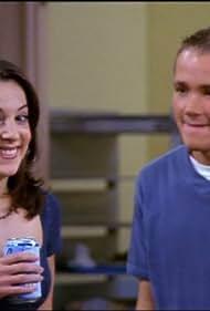 Lindsay Sloane and Corbin Allred in Sabrina the Teenage Witch (1996)