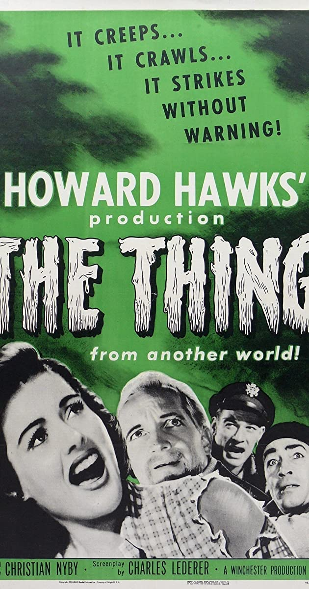 The Thing from Another World (1951) - Alternate Versions - IMDb