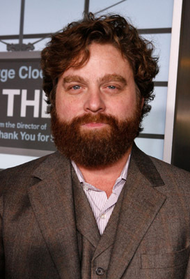 Zach Galifianakis at an event for Up in the Air (2009)
