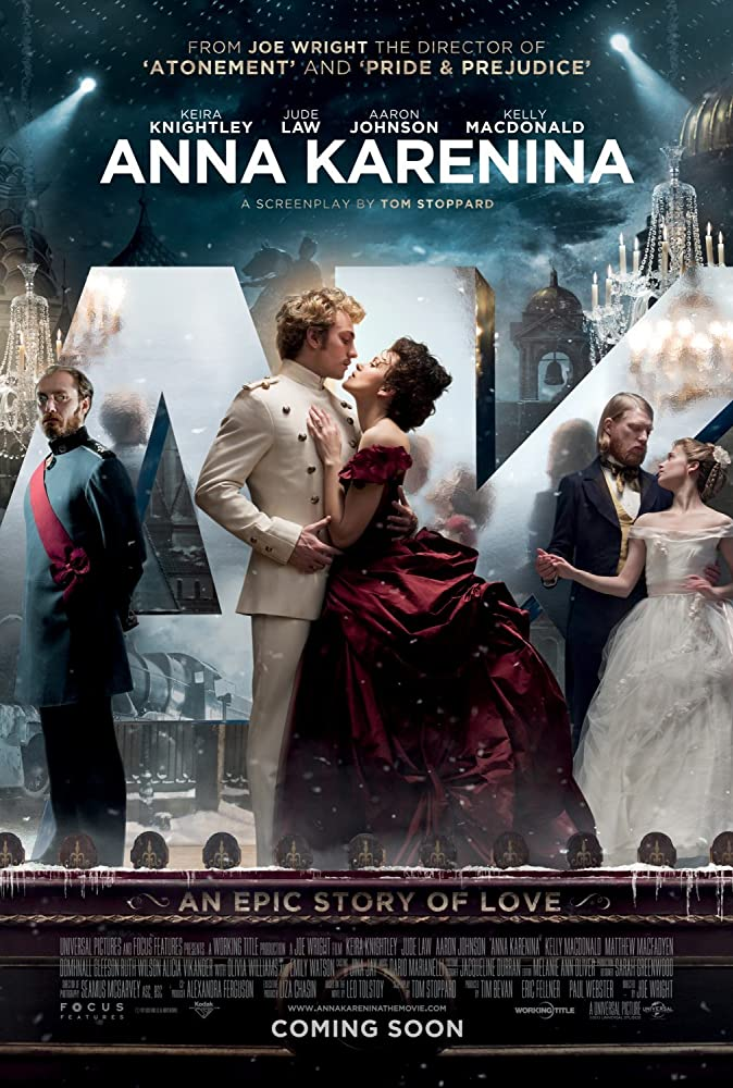 Anna Karenina 2012 Hindi ORG Dual Audio 450MB BluRay ESubs Download