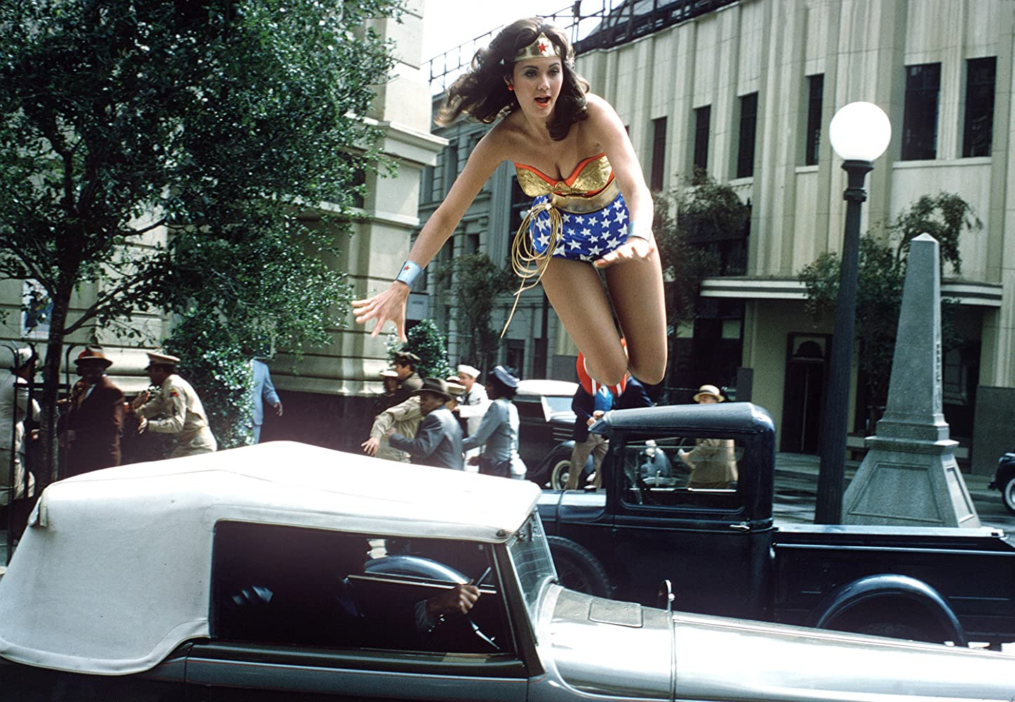Lynda Carter in The New Original Wonder Woman (1975)