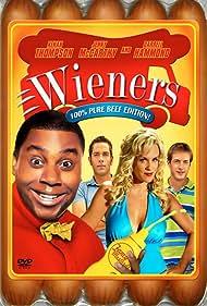 Jenny McCarthy, Joel David Moore, Kenan Thompson, and Zachary Levi in Wieners (2008)