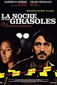Carmelo Gómez and Judith Diakhate in La noche de los girasoles (2006)