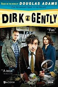 Helen Baxendale, Darren Boyd, and Stephen Mangan in Dirk Gently (2010)