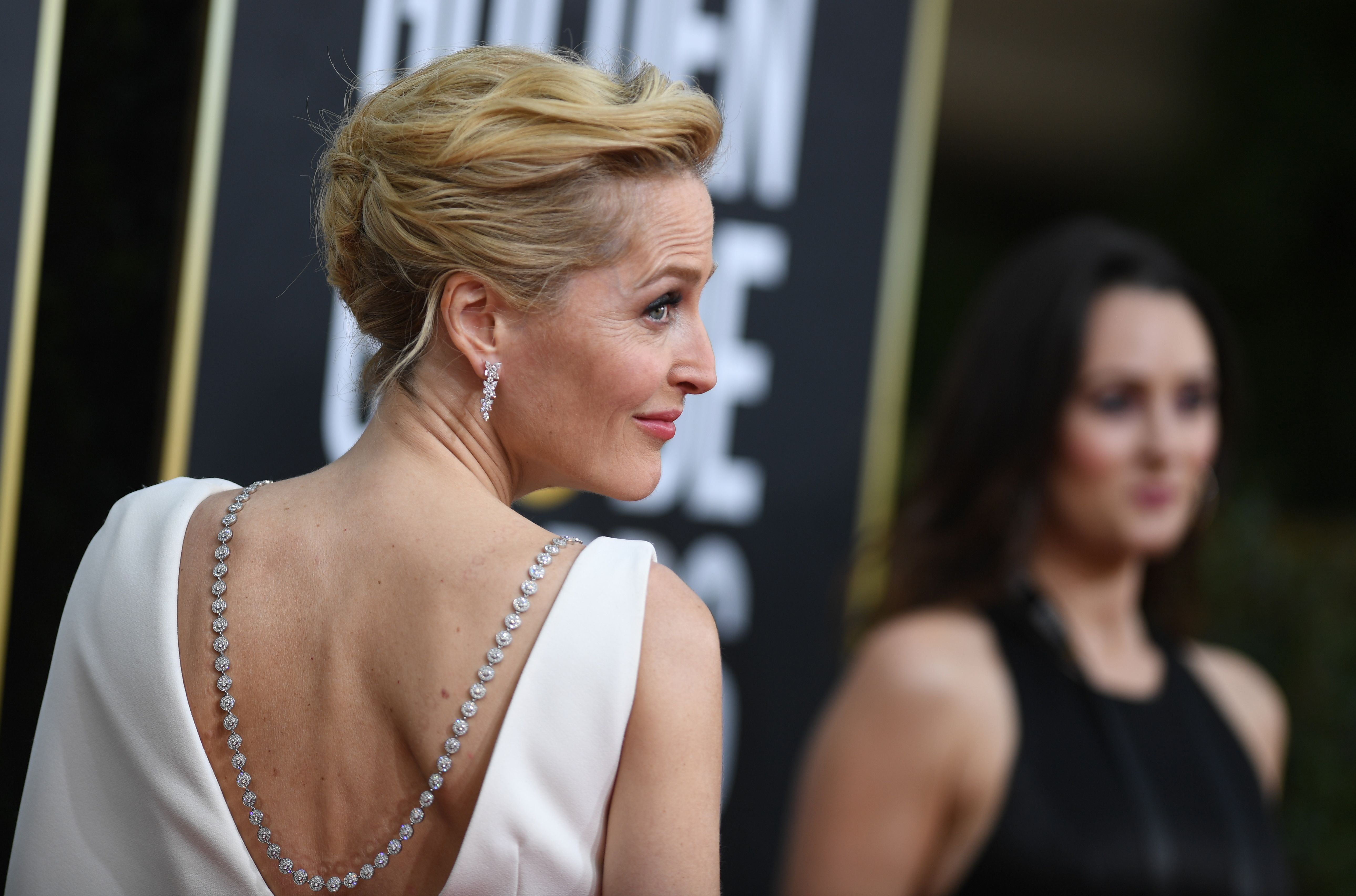 Gillian Anderson at an event for 2020 Golden Globe Awards (2020)