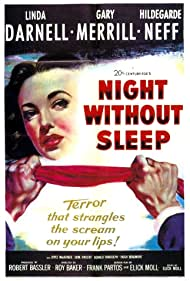 Linda Darnell in Night Without Sleep (1952)