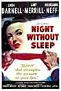 Night Without Sleep (1952) Poster