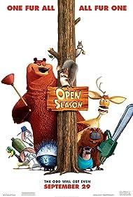 Martin Lawrence, Ashton Kutcher, Billy Connolly, Jon Favreau, Cody Cameron, and Maddie Taylor in Open Season (2006)