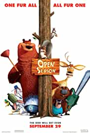 Open Season (2006) HDRip Hindi Movie Watch Online Free