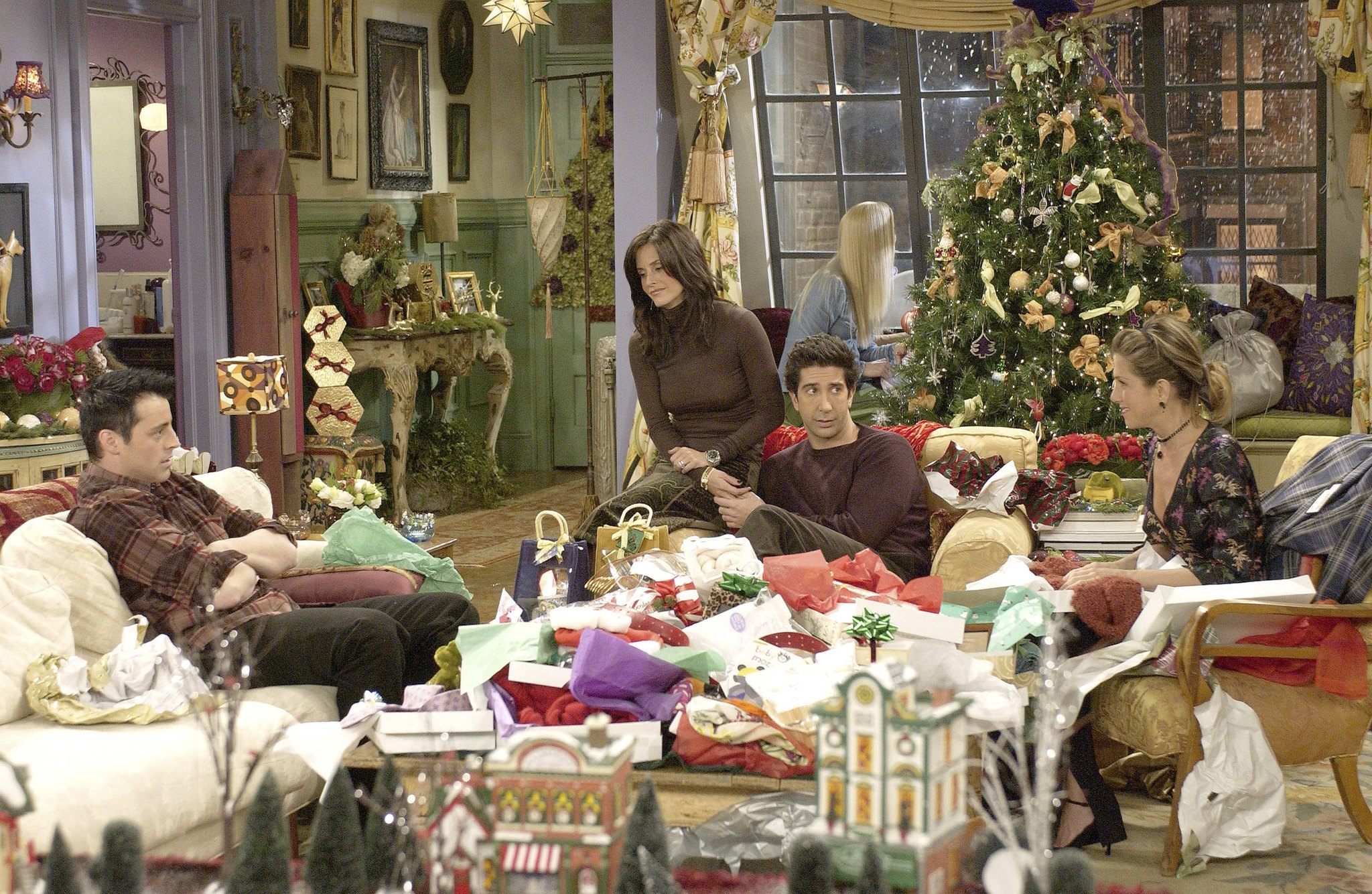Friends Christmas Episodes.Friends The One With Christmas In Tulsa Tv Episode 2002