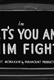 Let's You and Him Fight Poster
