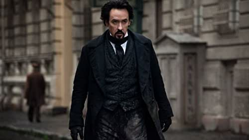 The poet Edgar Allan Poe pursues a serial killer whose murders mirror those in his stories.