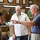 Clint Eastwood, John Carroll Lynch, and Bee Vang in Gran Torino (2008)