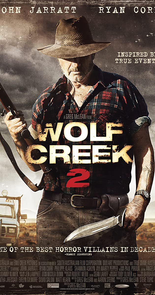 Subtitle of Wolf Creek 2
