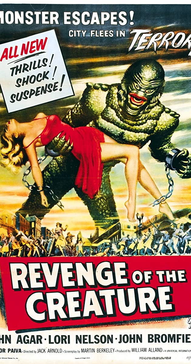 Subtitle of Revenge of the Creature