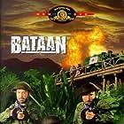 Robert Taylor, Lee Bowman, Thomas Mitchell, and Lloyd Nolan in Bataan (1943)