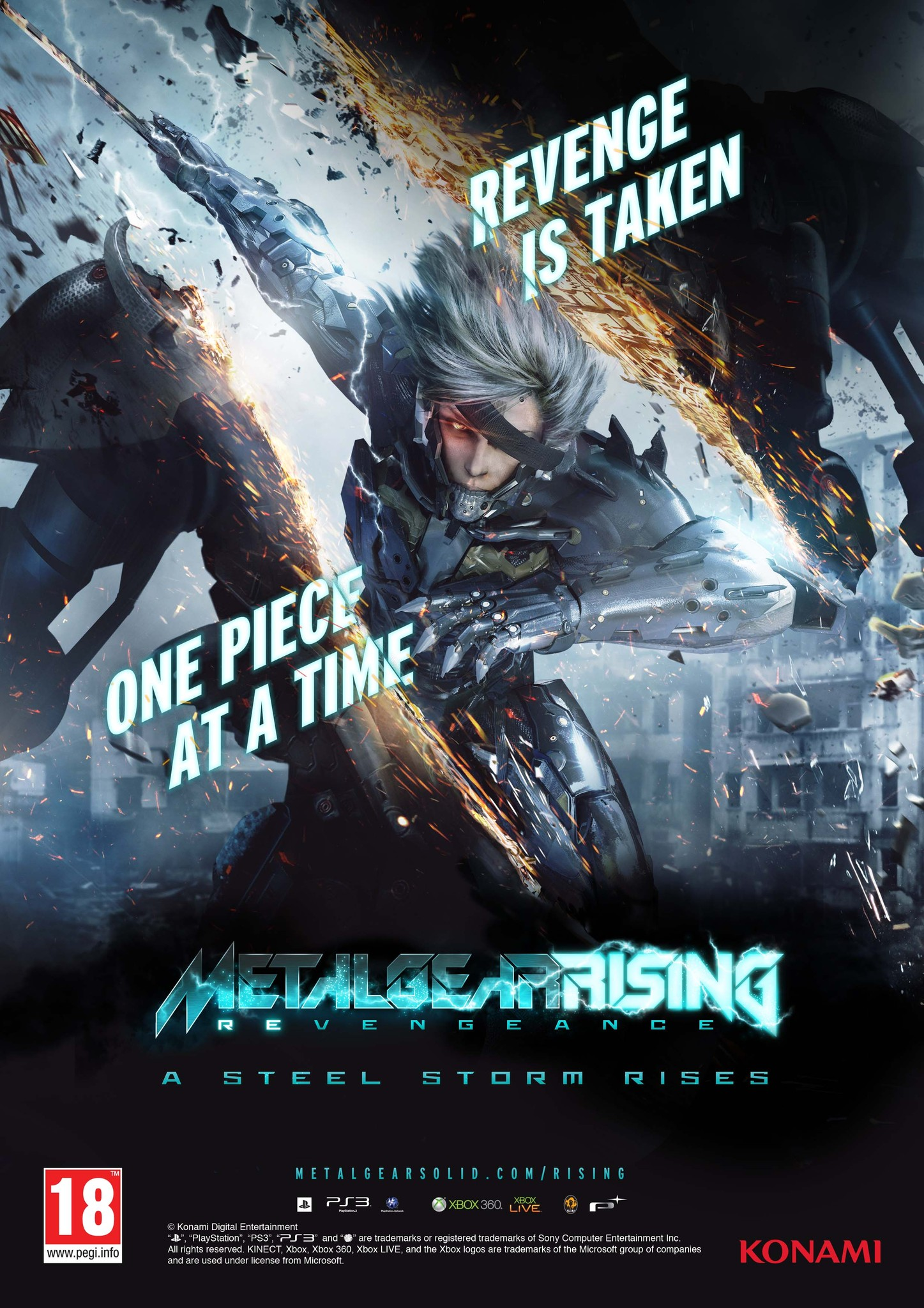 Metal Gear Rising Revengeance Video Game 2013 Imdb