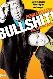 Penn & Teller: Bullshit! Poster - TV Show Forum, Cast, Reviews