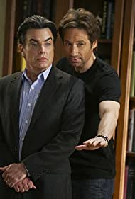 David Duchovny and Peter Gallagher in Californication (2007)