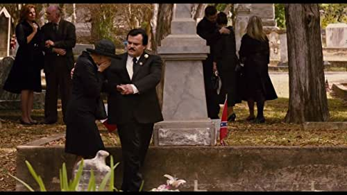 In small-town Texas, the friendship between the well-liked local mortician and a a reviled wealthy widow becomes the focus of much debate and scandal once she turns up dead.
