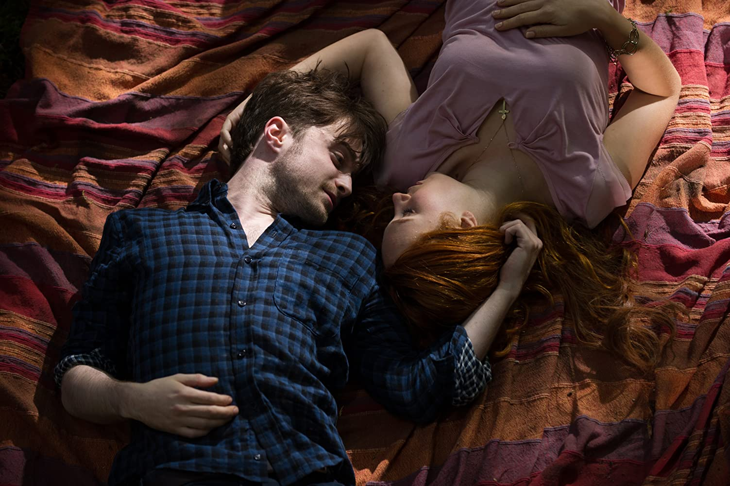 Daniel Radcliffe and Juno Temple in Horns (2013)