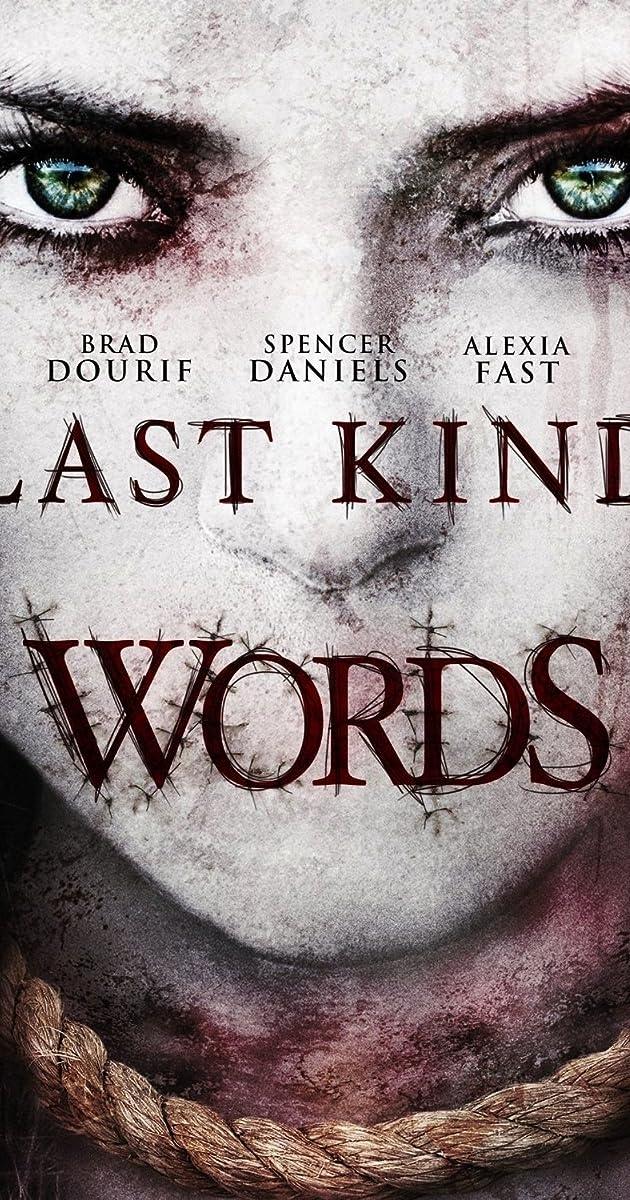 Subtitle of Last Kind Words