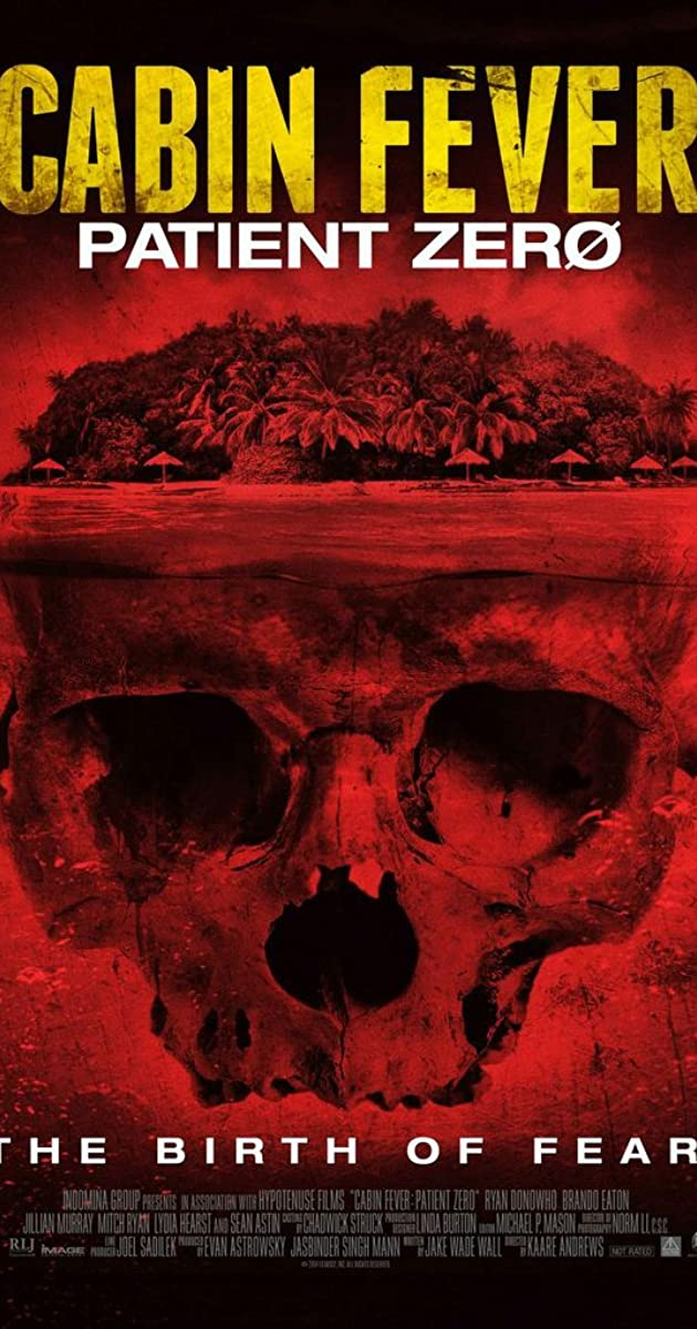 cabin fever 2016 movie rating