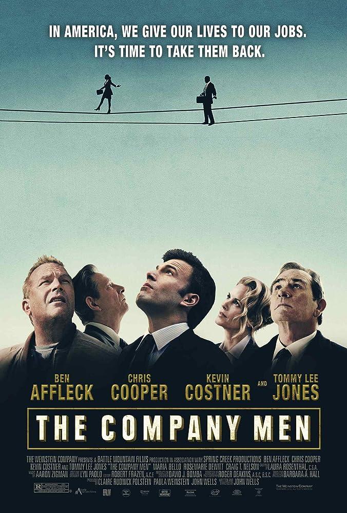 Kevin Costner, Tommy Lee Jones, Ben Affleck, Maria Bello, and Chris Cooper in The Company Men (2010)