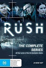 Rodger Corser, Nicole da Silva, Jolene Anderson, and Sean McIntyre in Rush (2008)