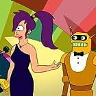 Katey Sagal and Maurice LaMarche in Futurama (1999)