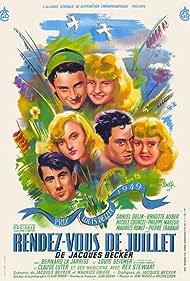 Rendez-vous de juillet (1949) Poster - Movie Forum, Cast, Reviews