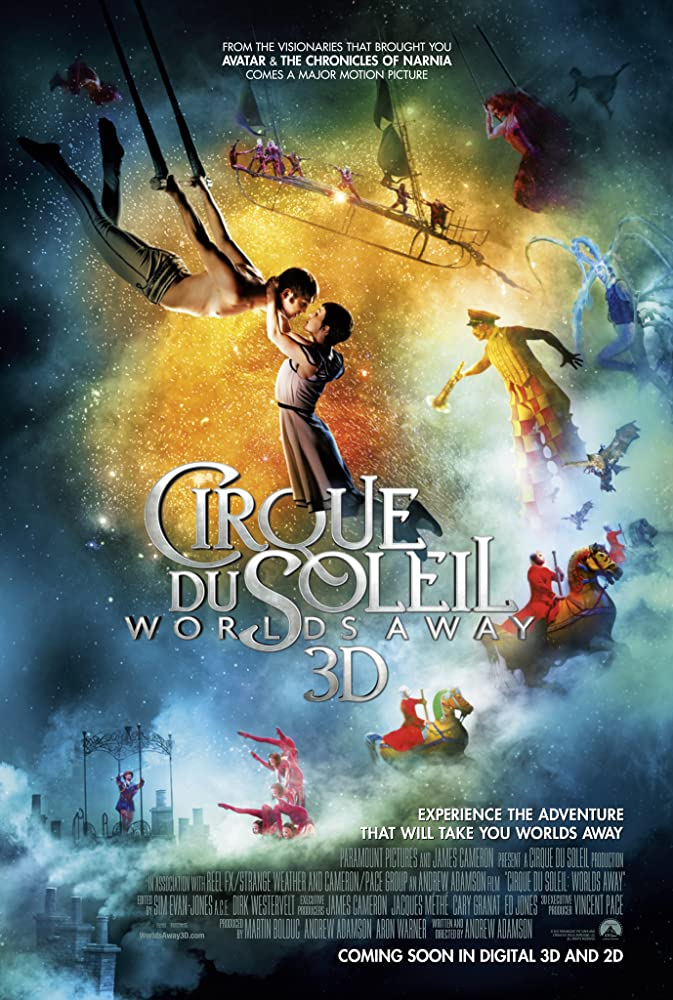 Cirque Du Soleil Worlds Away (2012) Dual Audio Hindi 300MB BluRay 480p x264 ESubs