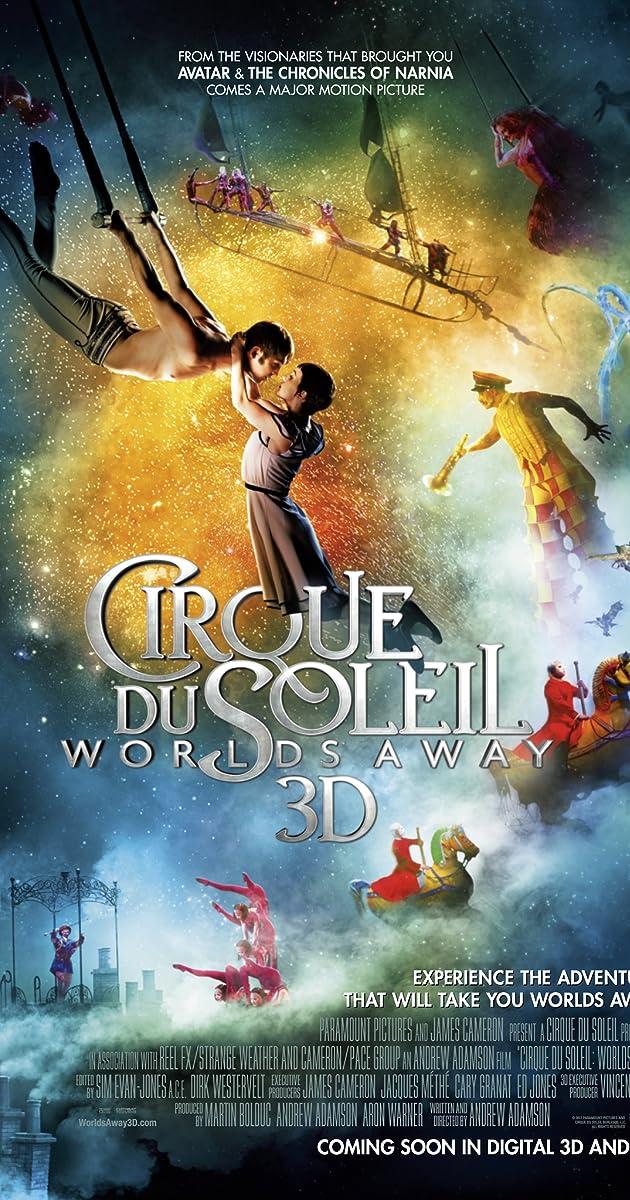 Subtitle of Cirque du Soleil: Worlds Away