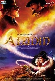 Amitabh Bachchan, Sanjay Dutt, Riteish Deshmukh, and Jacqueline Fernandez in Aladin (2009)